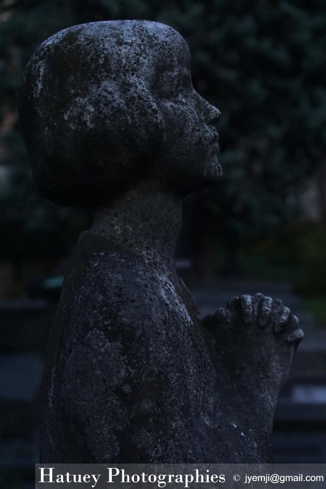 """Paris, Cimetiere du Pere Lachaise , Photographies de Paris, Cemetery Graveyard Cementerio Cimitero Friedhof , Cimetiere du Pere Lachaise , Photographies de la tombe de Elsen-Desiree MERCIER (1913-1931) par """"©Hatuey Photographies"""""""