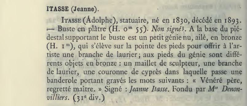 Jeanne ITASSE