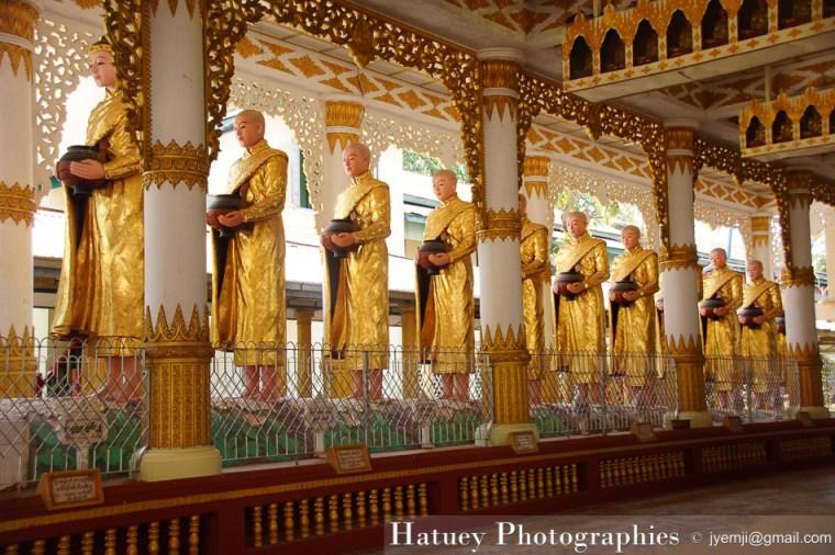 Kha Khat Wain Kyaung Monastery - Bago © Hatuey Photographies