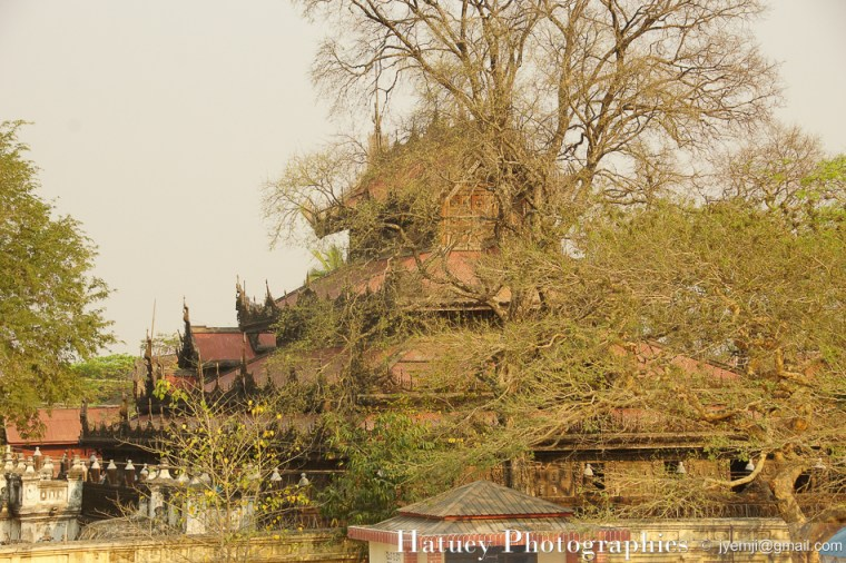 Myanmar Birmanie, Photographies 2015, Asie, Sculpture, Mandalay, Monastère Shwenandaw by © Hatuey Photographies by © Hatuey Photographies