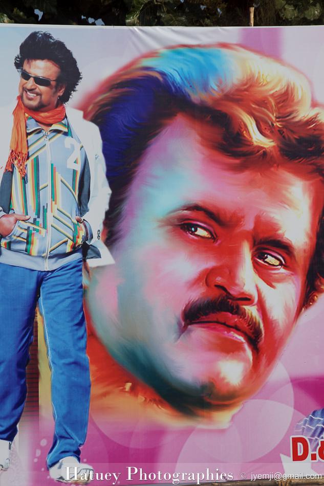 Affiche Inde du sud, acteur © Hatuey Photographies