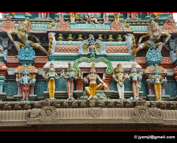 Chennai Kapaleeshwarar Temple Tamil Nadu , Tourism in South India. Photographs of South India, Photographies en Inde du Sud par © Hatuey Photographies