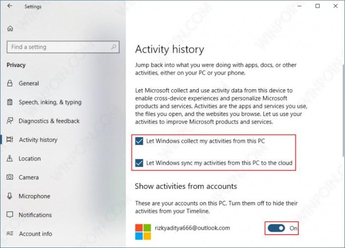 Cara Mengaktifkan Fitur Timeline di Windows 10