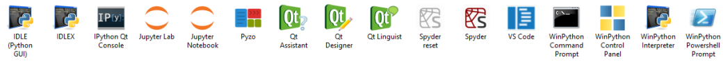 WinPython Launcher Icons
