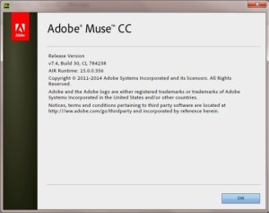 Adobe Muse CC 7.4 (2015) With Crack