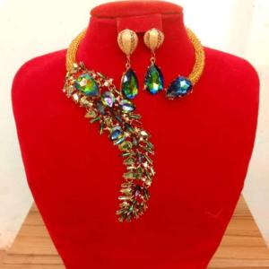 Exquisite Beaded Necklace - Gold