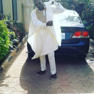 Fashion Agbada Native Wear - White