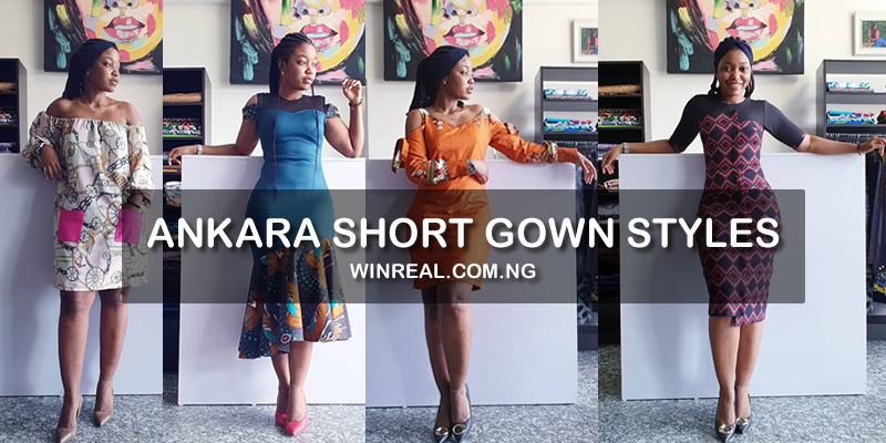 Ankara Short Gown Styles For Women