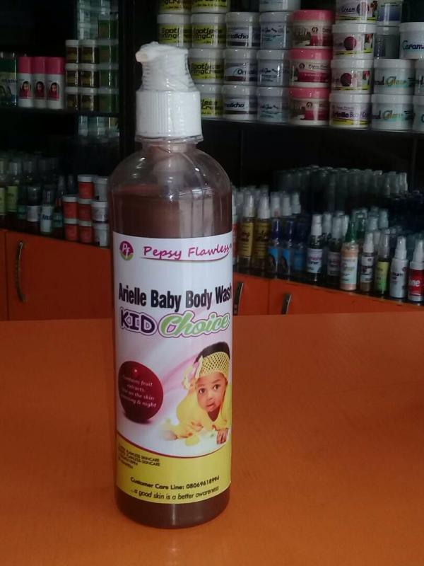 Arielle Baby Body Wash For Kids