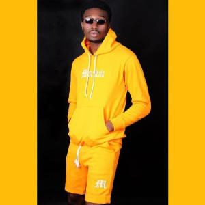 Yellow Hoodie and Short - Hoodies For Men
