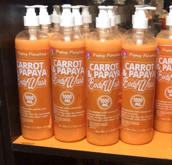 Carrot & Papaya Body Wash