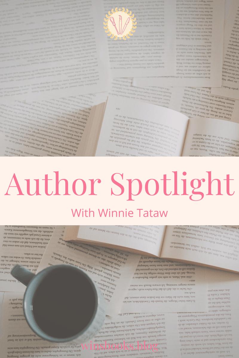 author spotlight with Winnie Tataw