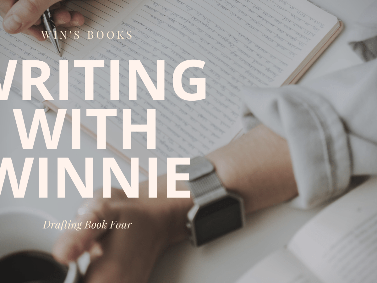 writing with Winnie on Win's Books