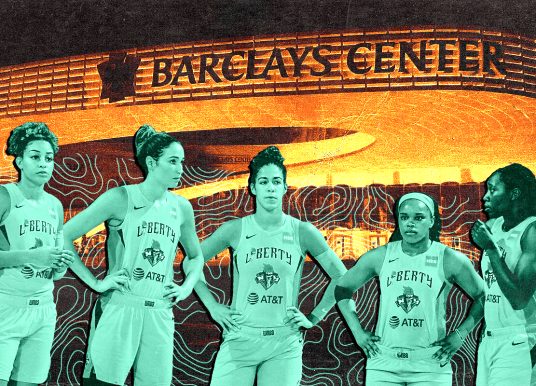 The New York Liberty have earned the Barclays Center