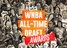 WNBA All-Time Draft Awards