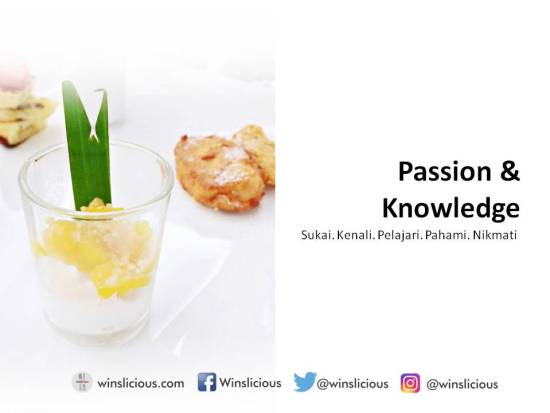 1 Passion & Knowledge