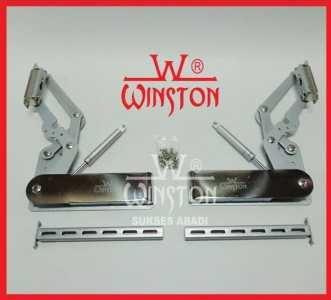Engsel Lift Up & Down HV Winston 202 for Cabinet Panel 340 - 380 mm 1