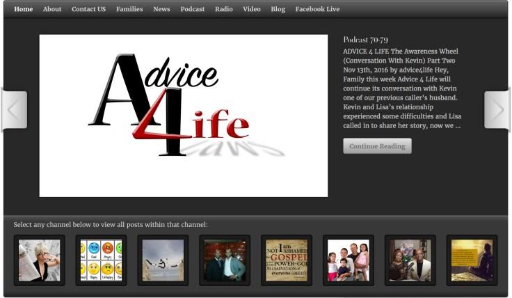 advice4lifescreenshot