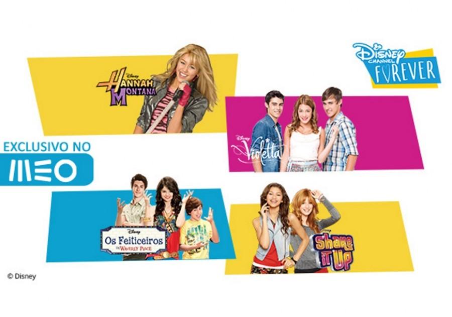 """MEO estreia em exclusivo """"Disney Channel Forever"""" na posição 49"""