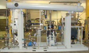 wintek MSDU flash evaporation system, methanol recovery
