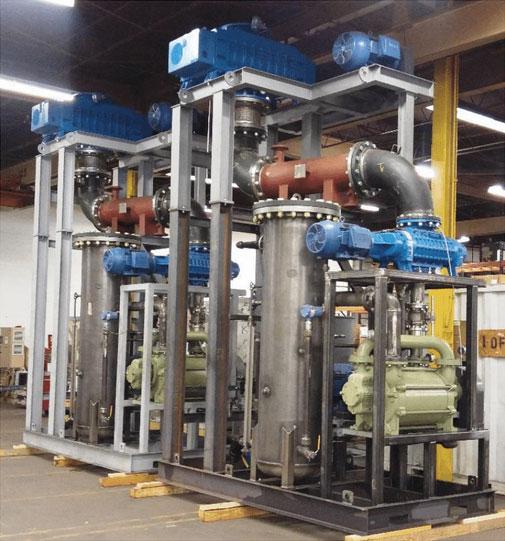 Boosted Liquid Ring Vacuum System | Complex Vacuum Systems