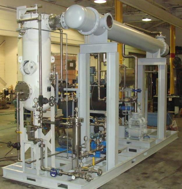 Flash Evaporation System