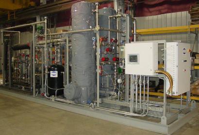 Gas Phase Molecular Sieve Dehydration System