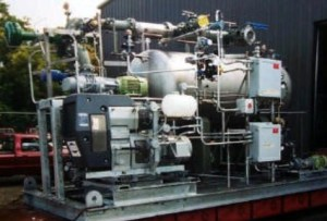 Vacuum Solvent Recovery System for Petrochemical