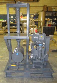 rotary piston vacuum system