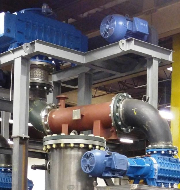 Inter-Stage Heat Exchanger