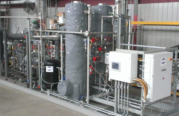 gas phase msdu molecular sieve dehydration unit