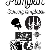 A Mega List Of FREE Printable Pumpkin Stencils + Halloween Templates