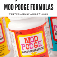 A Guide to All Mod Podge Formulas