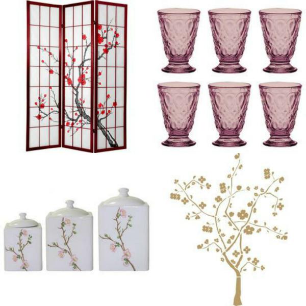 Cherry Blossoms Inspired Home Decor