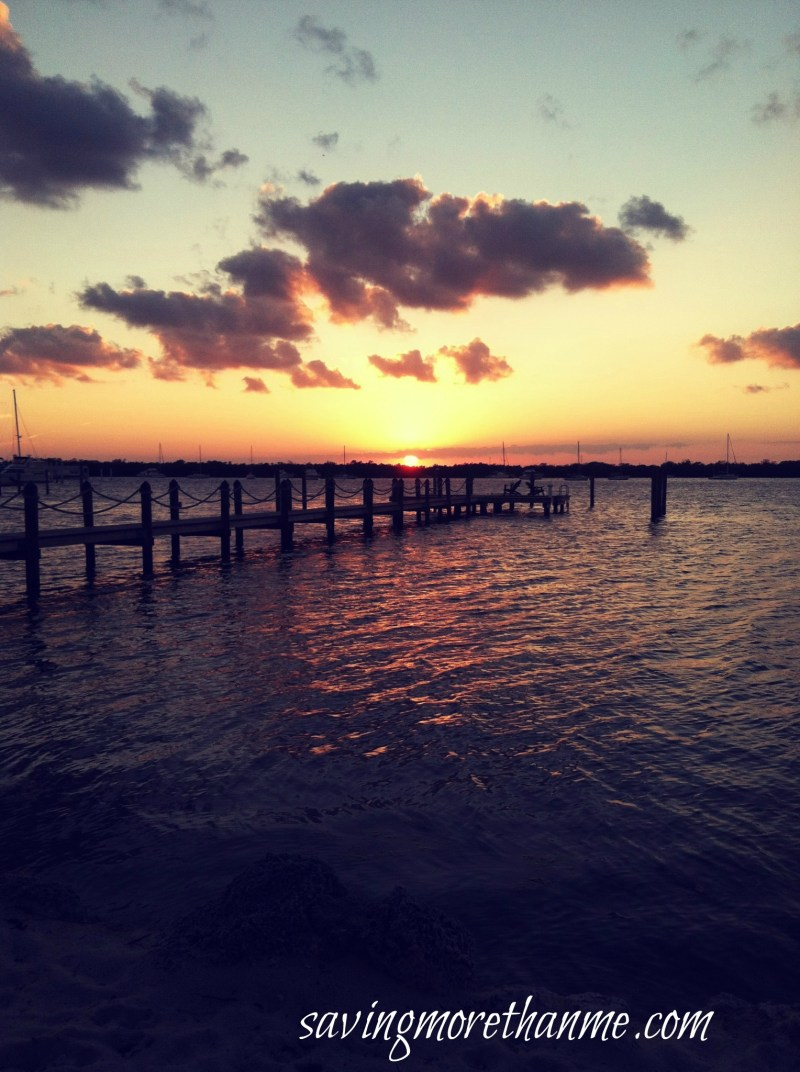 Sunset in the Keys-The Beauty of South Florida: Beaches, Sunsets, and Palm Trees   winterandsparrow.com #southflorida #floridatravel #sunsetpictures #keywest
