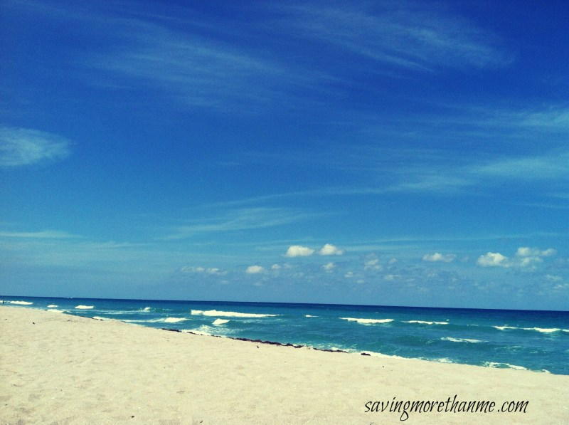 Juno Beach in South Florida-The Beauty of South Florida: Beaches, Sunsets, and Palm Trees   winterandsparrow.com #southflorida #floridatravel #sunsetpictures #keywest