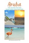Aruba:  The Island That Has Something For Everyone