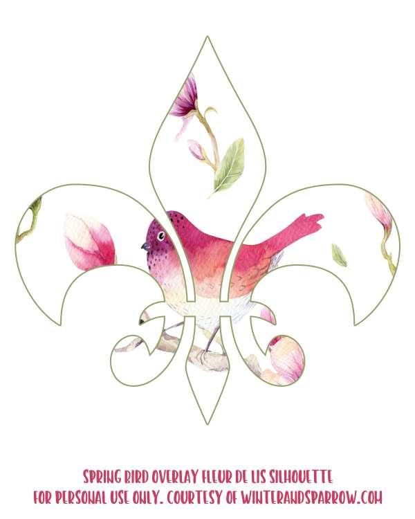 The History of Fleur de Lis + 8 Free Fleur de Lis Silhouette Clipart Images winterandsparrow.com
