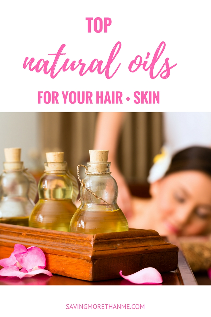 Top Natural Oils for your Hair and Skin