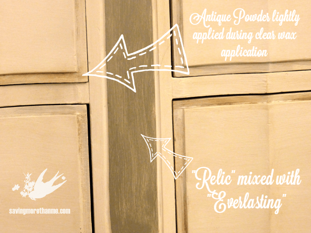 Roadside dresser gets a French shabby chic makeover with @DecoArt_Inc chalk paint! winterandsparrow.com