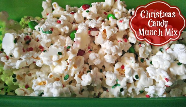 Christmas Candy Munch Mix