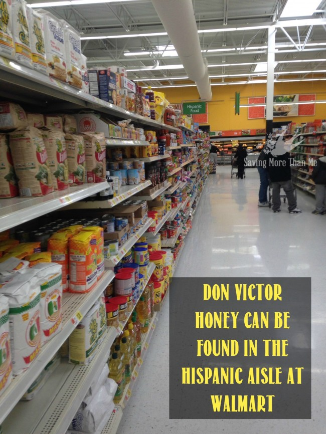 hispanic aisle walmart Make A Winter Survival Gift Basket With Honey, Tea, and Me #HoneyForHolidays #DonVictor #Ad winterandsparrow.com
