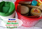 Make A Winter Survival Gift Basket With Honey, Tea, and Me