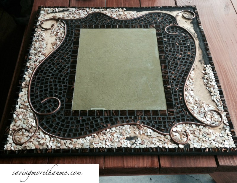 DIY Mosaic Decorative Mirror