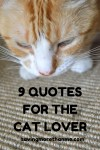 9 Quotes For The Cat Lover