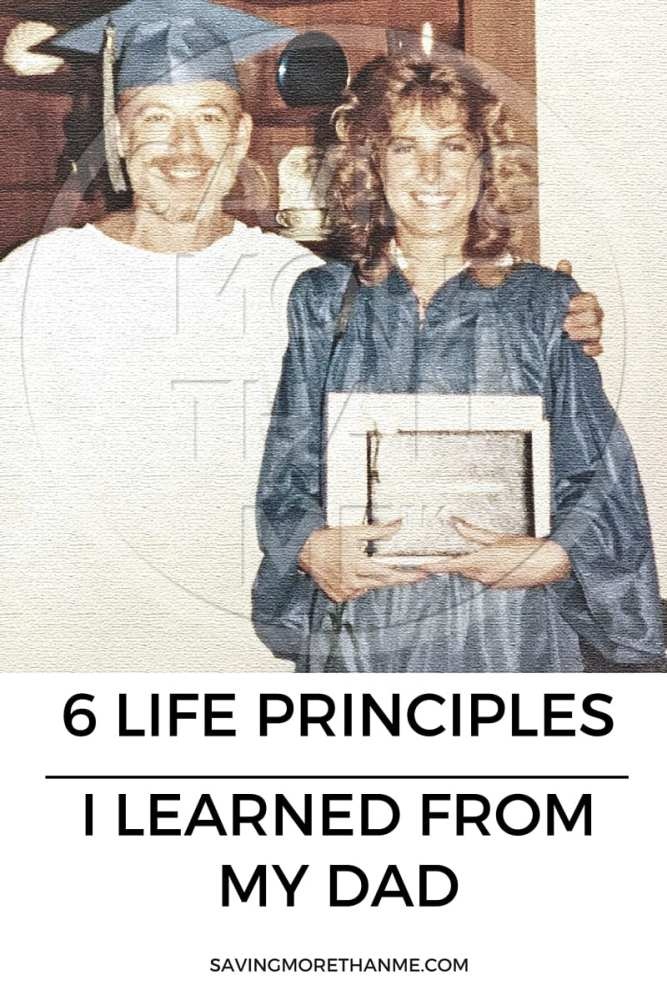 6 Life Principles I Learned From My Dad @amgreetings #ThankList #30DayChallenge #ad
