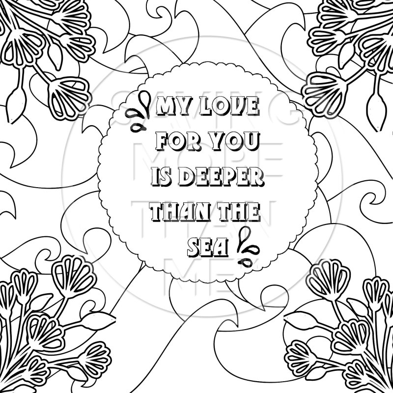 4 Free Valentine's Day Coloring Pages {For Adults + Kids!}