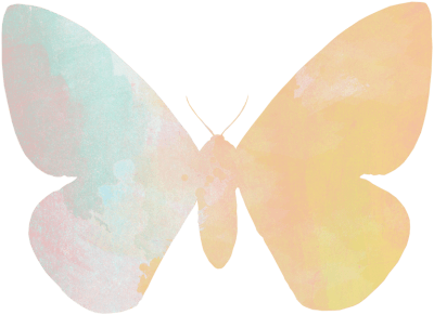 Summer Freebies: Butterfly Coloring Pages, Clip Art, and Bookmarks winterandsparrow.com watercolor-butterfly-3