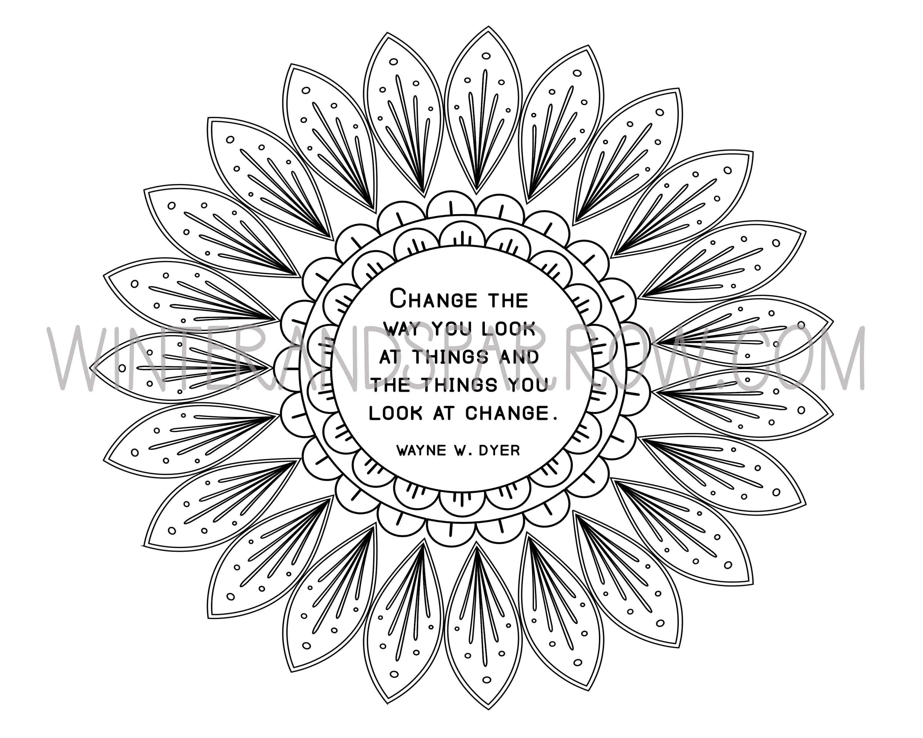 Yes, Coloring Can Reduce Stress + Anxiety {Stress Relief Coloring Pages}