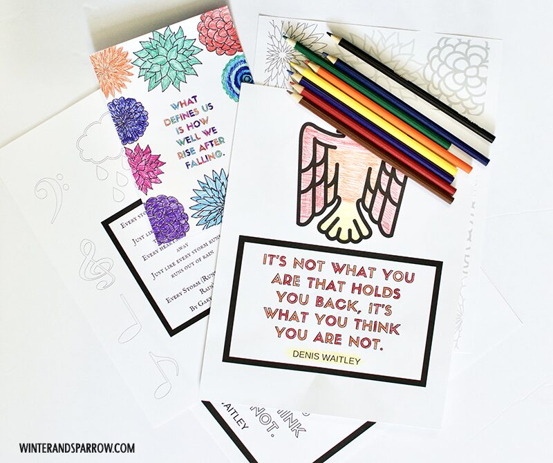 How To Use Canva To Create Coloring Pages + Printable Wall Art #createwithHP #ad